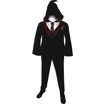 Harry Potter Gryffindor Adult Pajama Suit