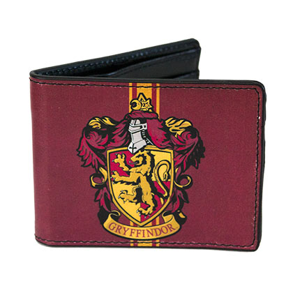 Harry Potter Bi-Fold Maroon Gryffindor Wallet