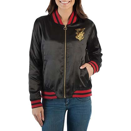 Harry Potter Black Juniors Bomber Jacket