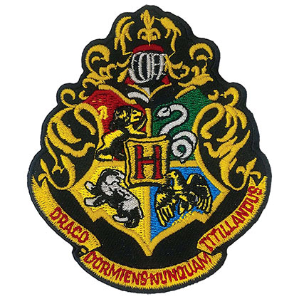 Harry Potter Hogwarts Iron On Patch