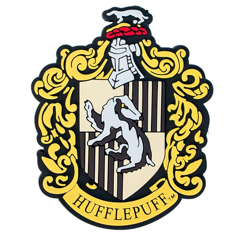 Harry Potter Rubber Hufflepuff Magnet Tvmoviedepot