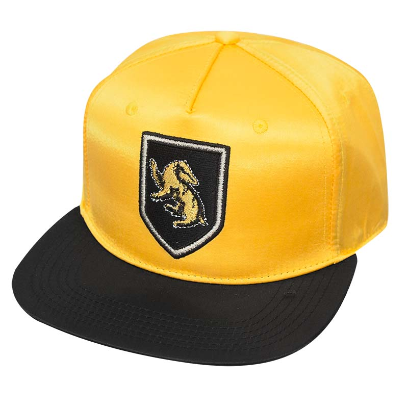 Harry Potter Gold Satin Hufflepuff Hat