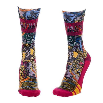 Harry Potter Women's Collage Crew Socks