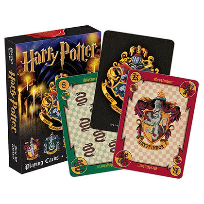 Harry Potter Hogwarts School Playing Cards
