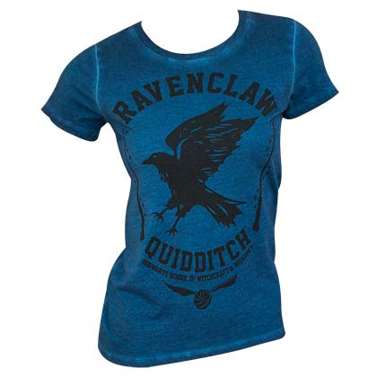 Harry Potter Ravenclaw Oil Washed Women's Tee Shirt