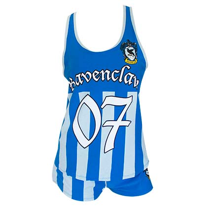 Harry Potter Women's Ravenclaw Quidditch Seeker Varsity Pajamas