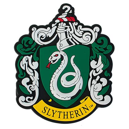 Harry Potter Rubber Slytherin Magnet