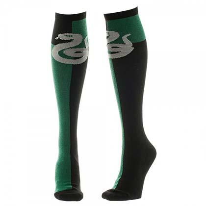 Harry Potter Women's Knee High Slytherin Socks