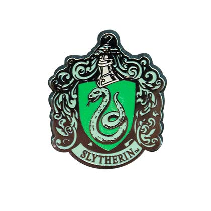 Harry Potter Slytherin Logo Lapel Pin