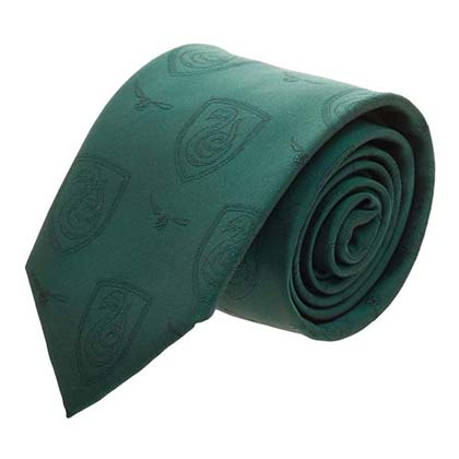 Harry Potter Green Slytherin Neck Tie