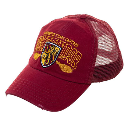 Harry Potter Quidditch Captain Gryffindor Men's Mesh Hat