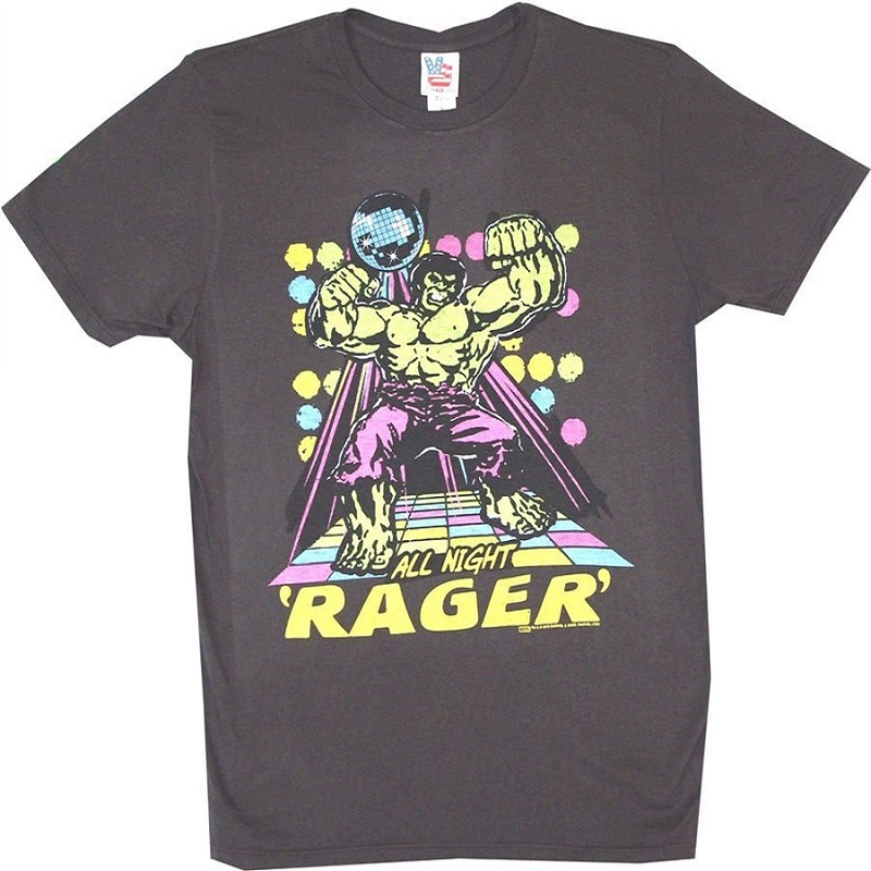 Hulk All Night Rager Tshirt