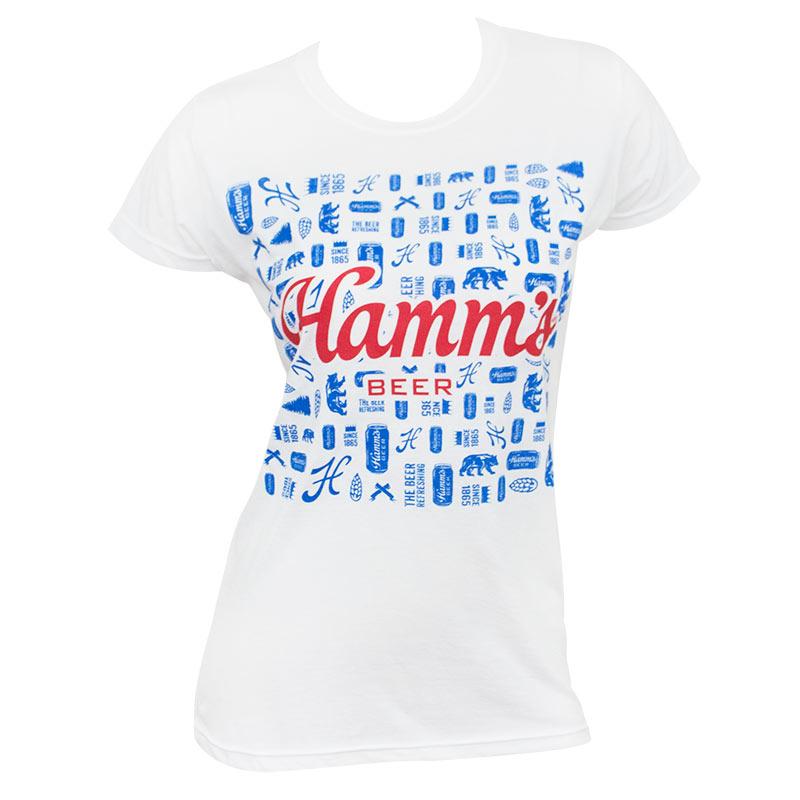 Hamm's Abstract Women's Tee Shirt