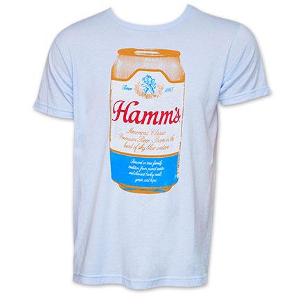 Hamm's Retro TShirt - Light Blue