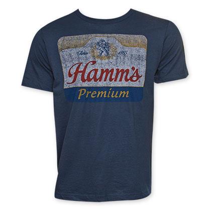 Hamm's Men's Vintage Premuim Beer Logo T-Shirt