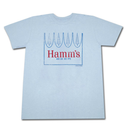 Hamm's Beer Crown Logo Tshirt