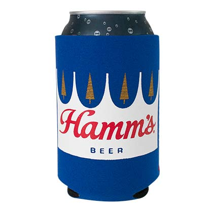 Hamm's Beer Can Cooler