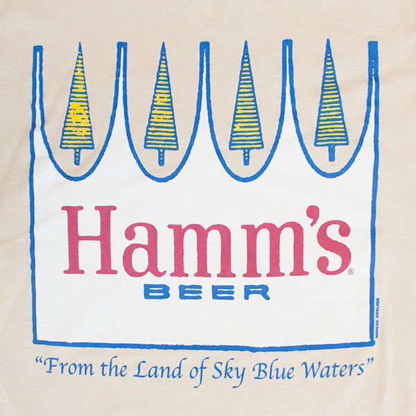 Hamm's Beer Tan Crown T-Shirt
