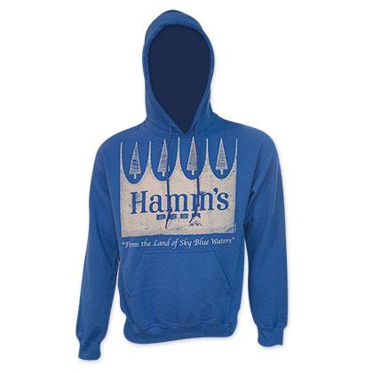 Hamm's Premium Men's Blue Hoodie