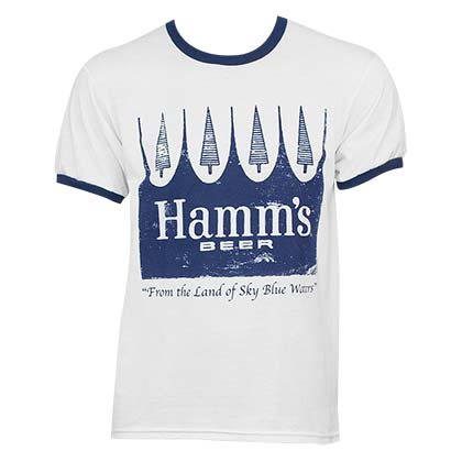 Hamm's Classic White Men's T-Shirt