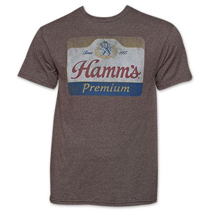 Hamm's Premium Beer Logo Tee Shirt