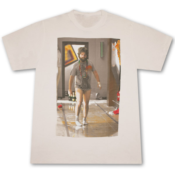 The Hangover Alan With No Pants Cream Graphic T-Shirt