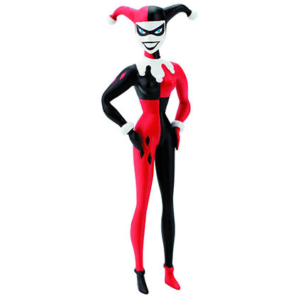 Harley Quinn Animated Bendable Action Figure