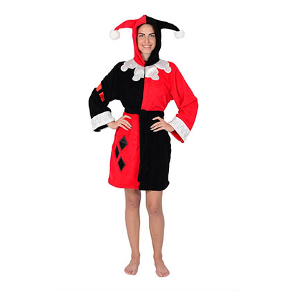 Harley Quinn Women's Hooded Robe