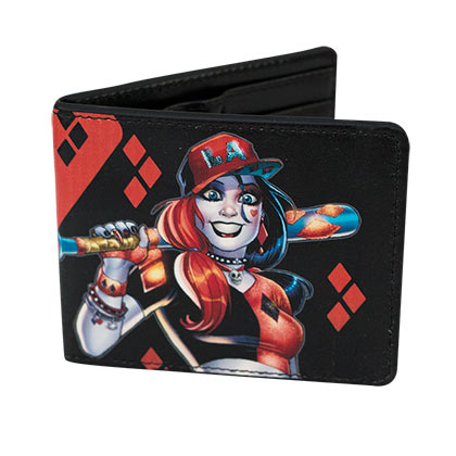 Harley Quinn Comic Wallet