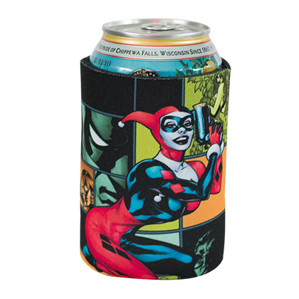 DC Comics Harley Quinn Cartoon Can Cooler