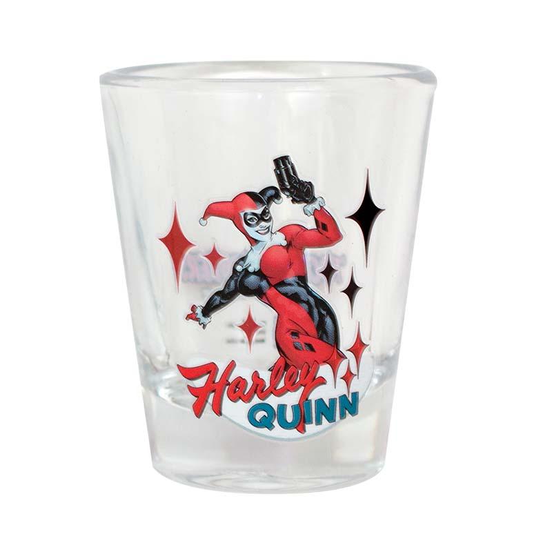 Harley Quinn Shot Glass