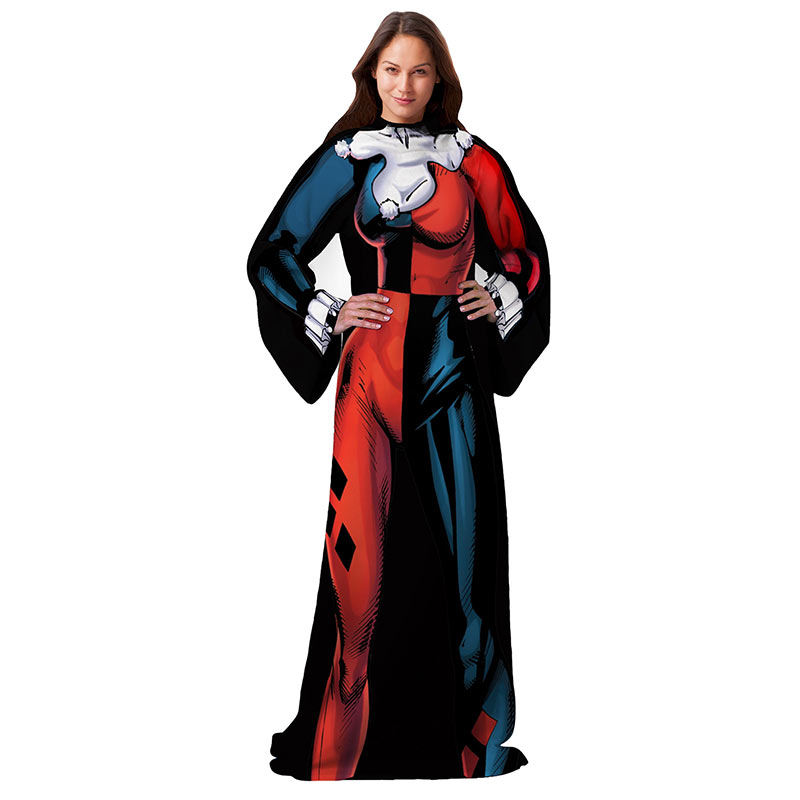 Harley Quinn Ladies Snuggie Superherodencom