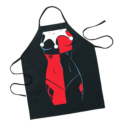 DC Harley Quinn Red And Black Apron
