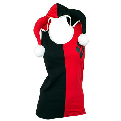 Harley Quinn Women's Hooded Tank Top