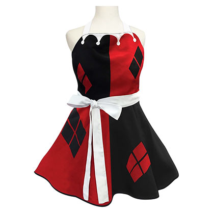 Harley Quinn Ladies Costume Apron