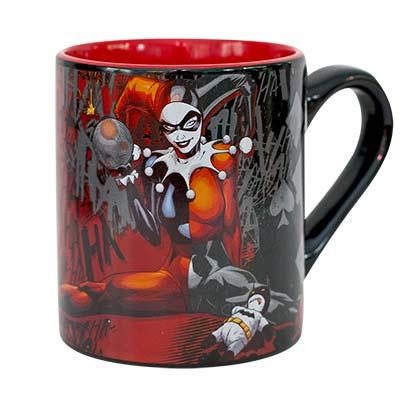 Harley Quinn Comic 14 OZ Mug