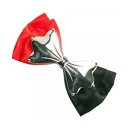 DC Comics Harley Quinn Red And Black Hair Bow
