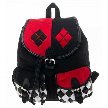Harley Quinn Comic Knapsack Backpack