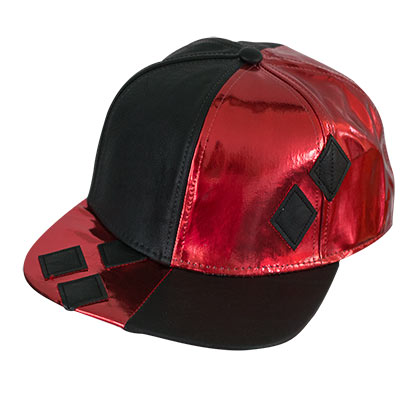 Batman Harley Quinn Suit Up Applique Diamond Snapback Hat