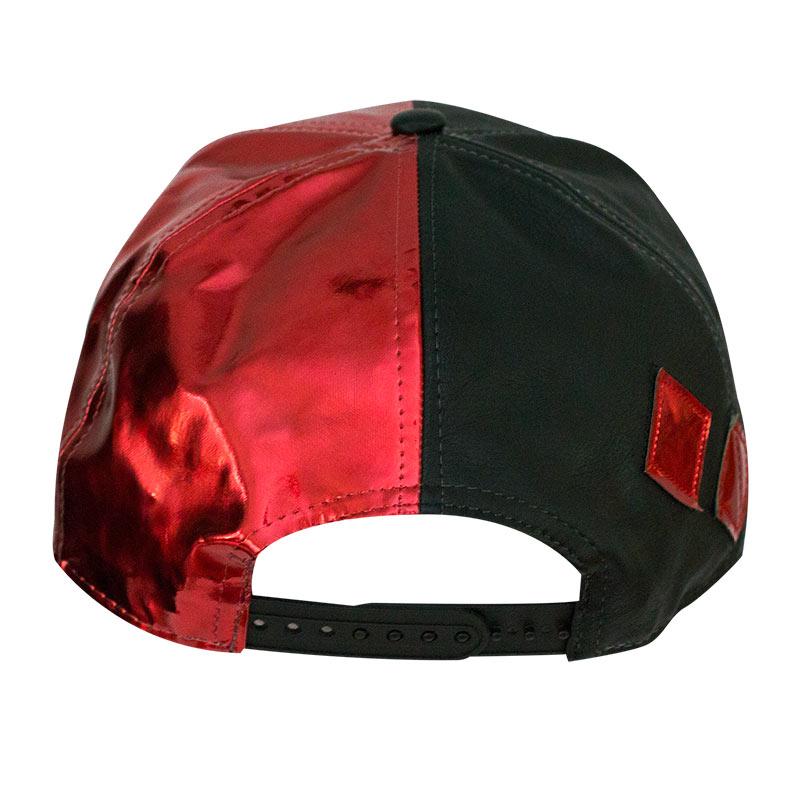 Batman Harley Quinn Suit Up Applique Diamond Snapback Hat ... a0be922aeb94