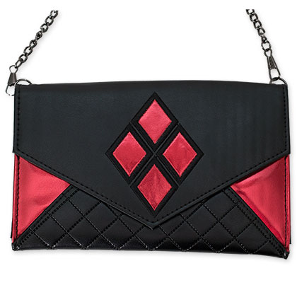 Harley Quinn Red And Black Envelope Wallet