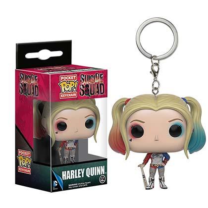 Funko Pop Harley Quinn Keychain