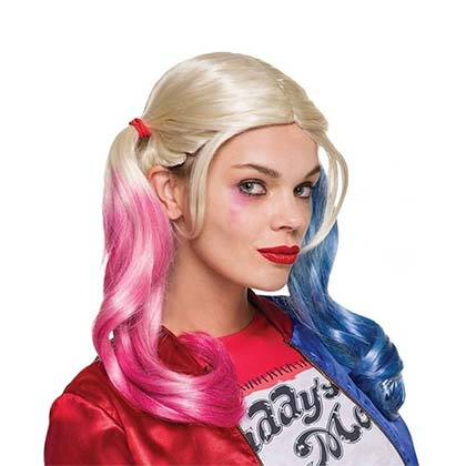 Harley Quinn Multi-Colored Wig