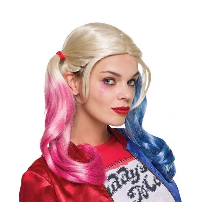 Harley Quinn Halloween Wig