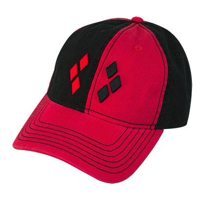 Harley Quinn Black Dad Hat