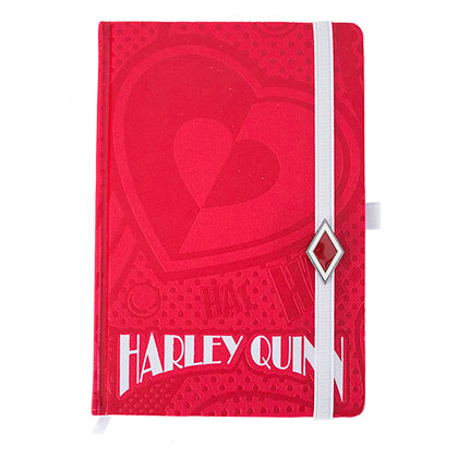 Harley Quinn Red Notebook Journal