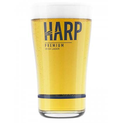 Harp 24 Oz Pint Glass