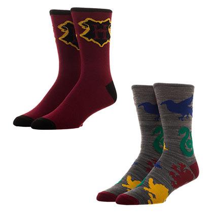 Harry Potter Men's Crew Socks Set