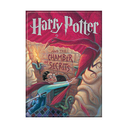 Harry Potter Chamber of Secrets Book Cover Magnet