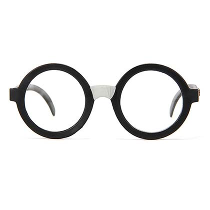 Harry Potter Round Frame Costume Glasses